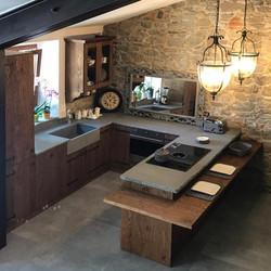 Cucina Rustica in Legno Vintage