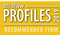 AsiaLaw Recommended Firm 2019 | Advanz Fidelis IP Sdn Bhd | Malaysia