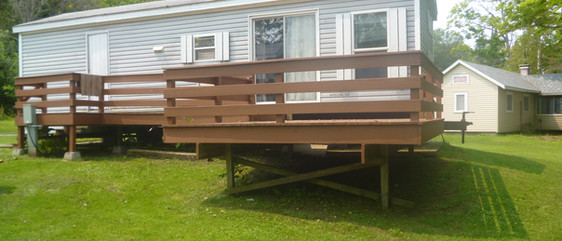 Tamarack deck
