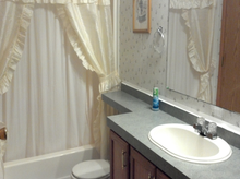 Spruce bathroom
