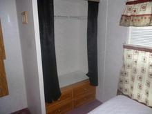 Tamarack bedroom 1 closet