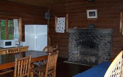 Cedar Lodge fireplace