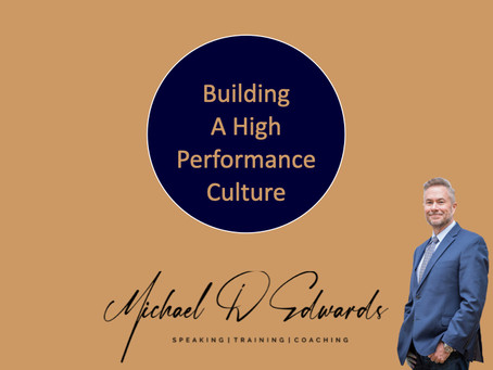 Building A High-Performance Culture Resources
