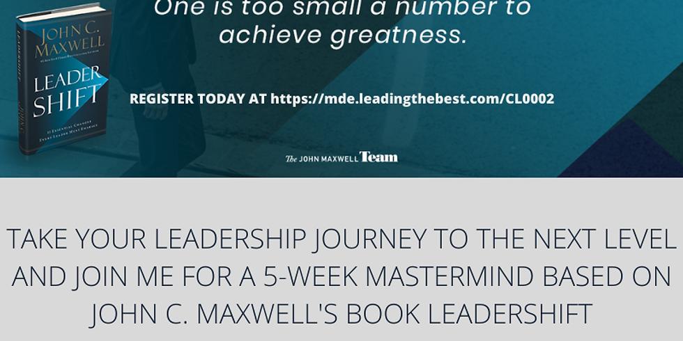 LEADERSHIFT 5-Week Mastermind