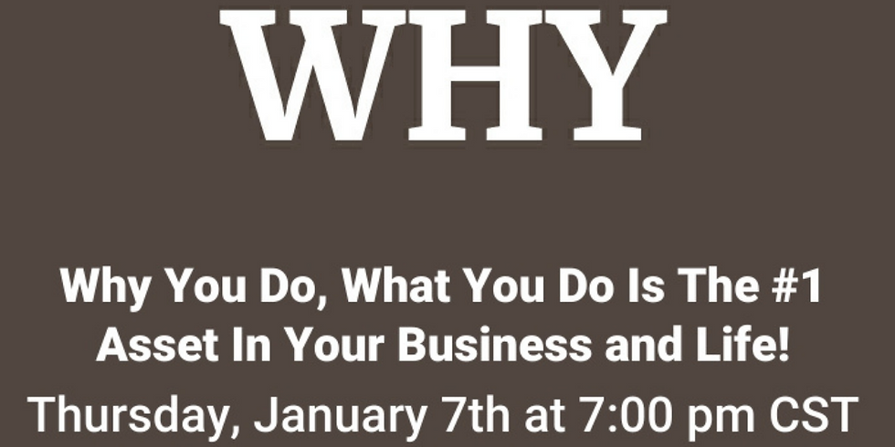 Disover Your Why Webinar