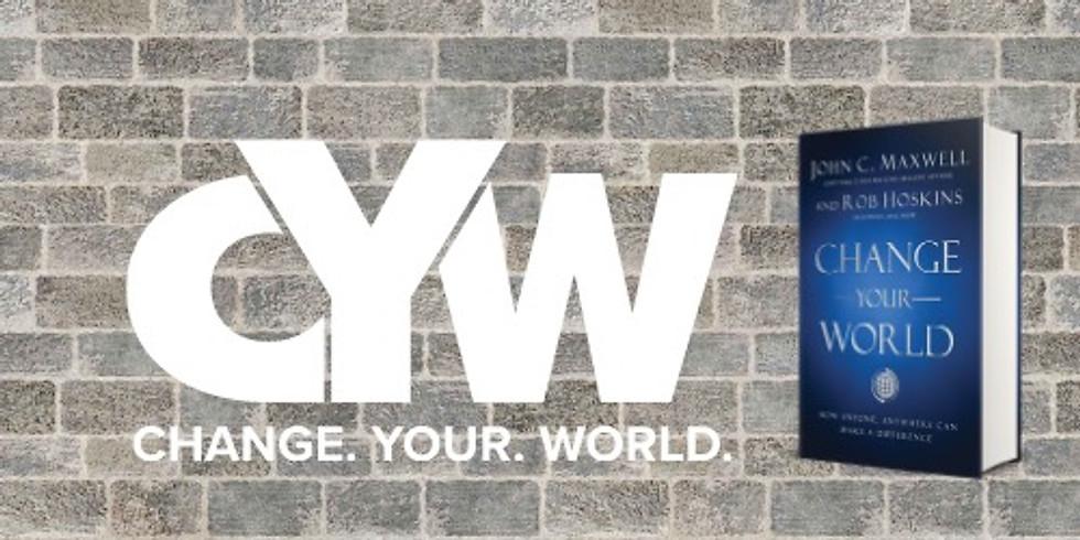 Change. Your. World. 6-Week Mastermind