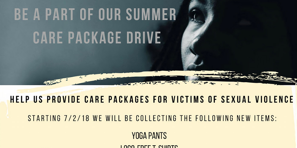 Summer Care Package Drive