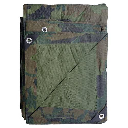 Camouflage & Olive Green Reversible All Season Tarp