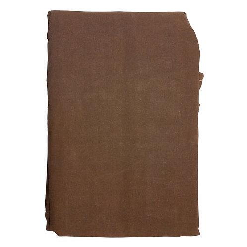 12oz Dark Brown U.S. Made Canvas Tarps w/ Coated Brass Grommets