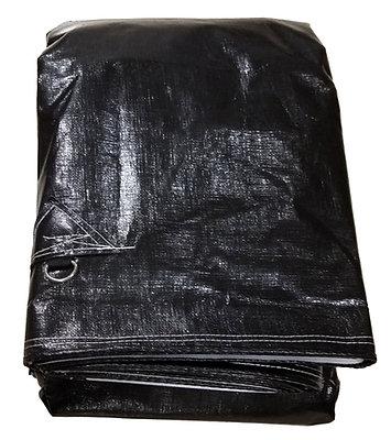 Black & White Extra Heavy Duty Tarp & Load Cover
