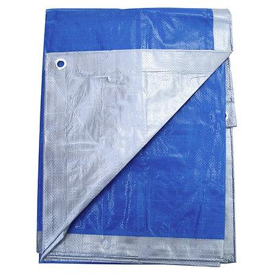Silver & Blue Reversible Premium Tarp