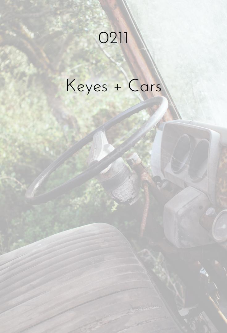 0211 | Cars + Keyes