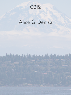 0212 | Alice & Denise