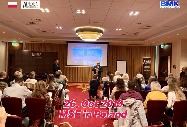 2019 MSE seminar in Poland