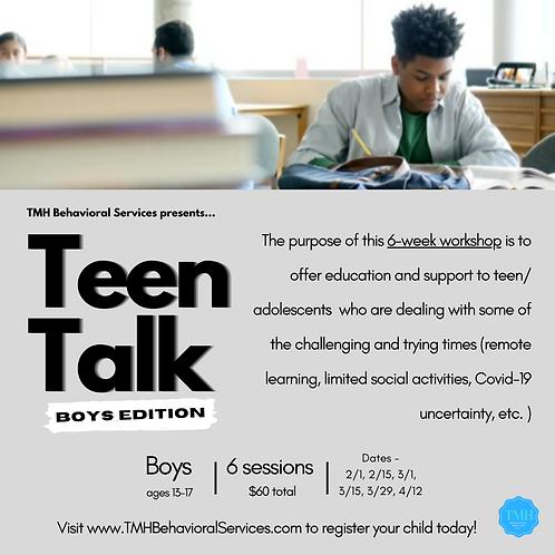 Teen Talk: Boys Edition