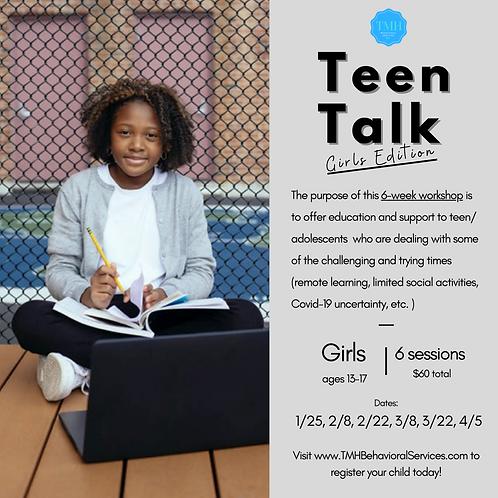 Teen Talk: Girls Edition
