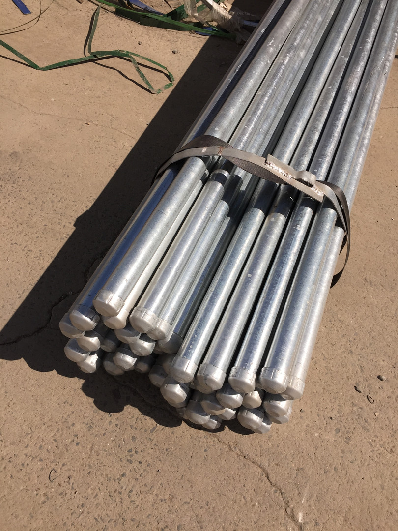Capped Galvanised Posts