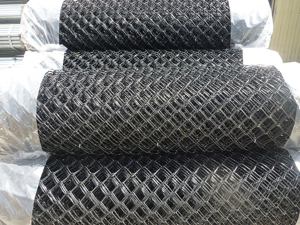 PVC Coated Black Chainwire
