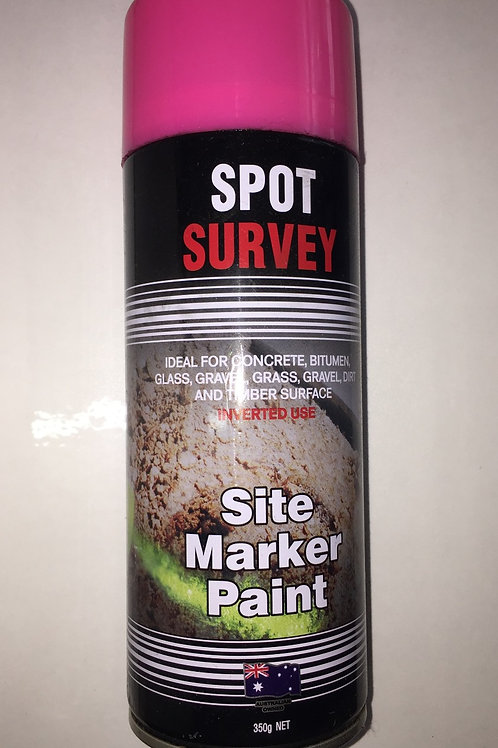 Pink Marking Paint