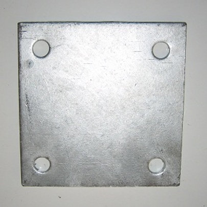 Square Flange Plate