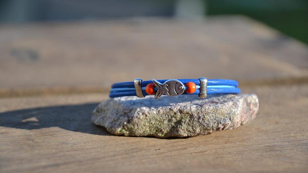 Bracelets 3 lacets couleurs