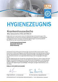 Hygienezeugnis_RAL_992_2_Krankenhauswäs