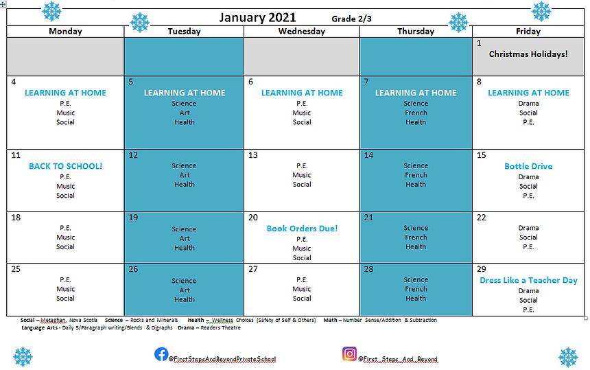 Gr 2&3 January 2021 Calendar.PNG