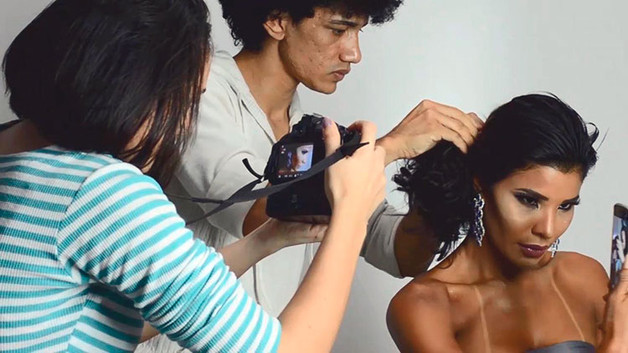 Making of Lu e Max Fotografia Em Ação