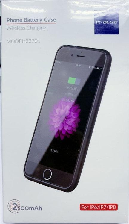 Capa recarregável para iPhone 6/7/8