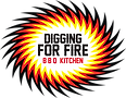 Digging for firre BBQ logo