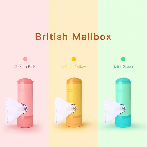 British Mailbox Dog Poo Bag Holder