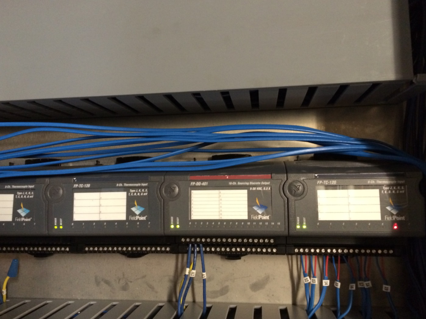 FieldPoint Replacement for an Array of Freezers