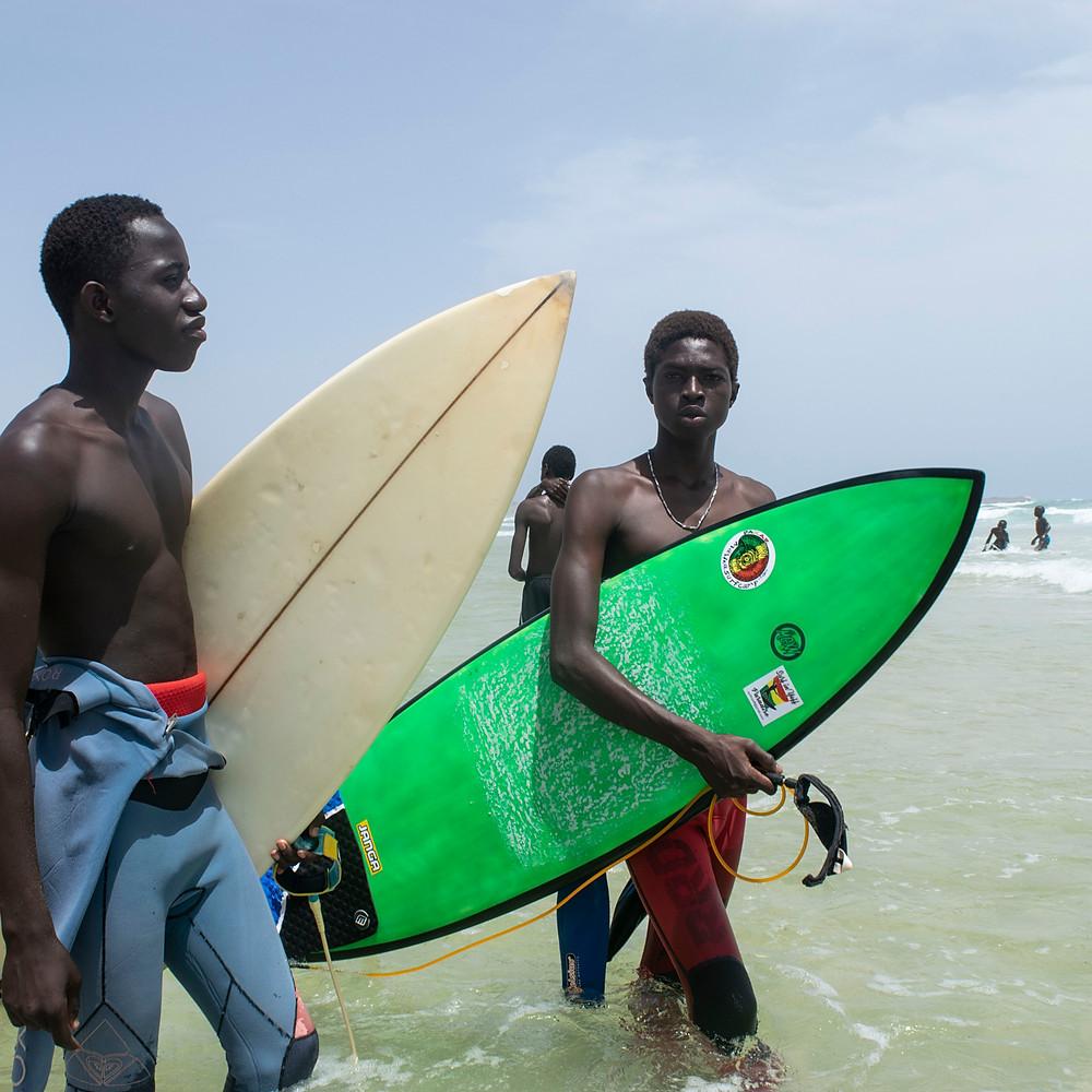 Dakar: Paradis du surf africain
