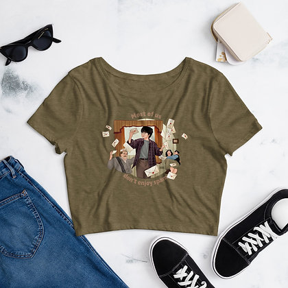 Harry Potter Women's Crop Tee