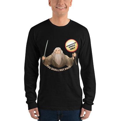 Gandalf the Postmaster Long sleeve t-shirt