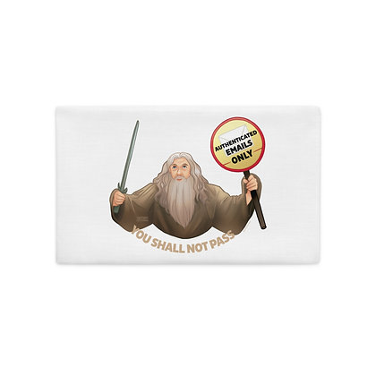 Gandalf the Postmaster Premium Pillow Case