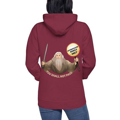 Gandalf the Postmaster Unisex Hoodie