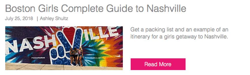 Nashville Blog