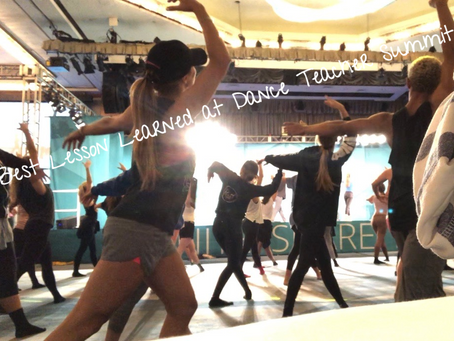 The Best Lesson Learned at 2018 NYC Dance Teacher Summit