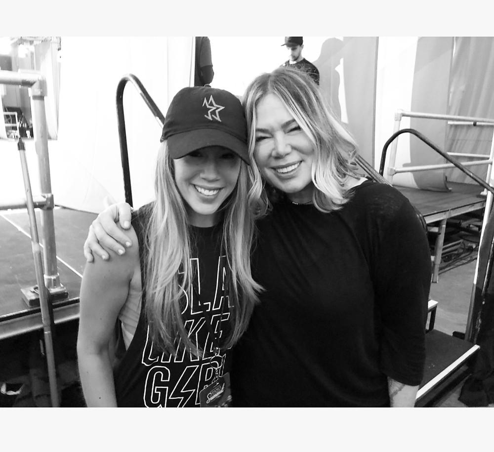 Mia Michaels and Ashley at NYC Dance Teacher Summit