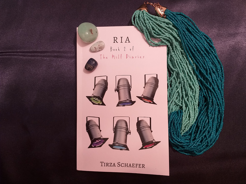 Ria, Book 2 of The Milf Diaries series by Tirza Schaefer
