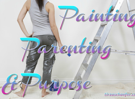 Thoughts Inspiration Education:  Painting, Parenting & Purpose