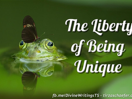Thoughts Inspiration Education:  The Liberty of Being Unique