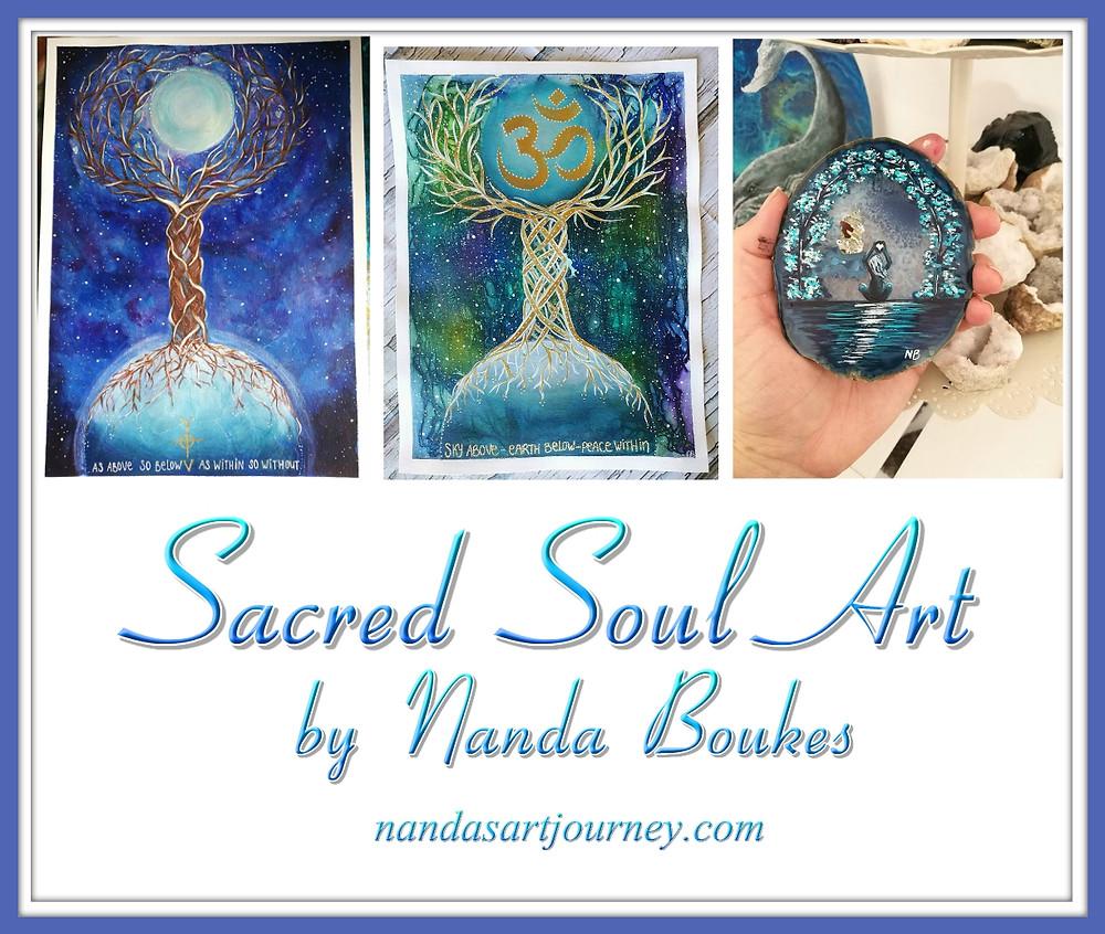 Sacred Soul Art by Nanda Boukes
