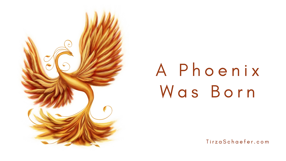 A Phoenix Was Born by Tirza Schaefer
