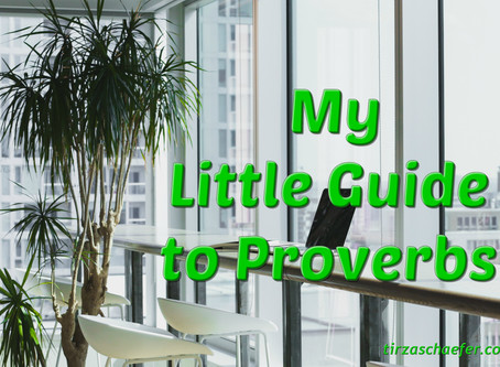 Thoughts Inspiration Education:  My Little Guide to Proverbs