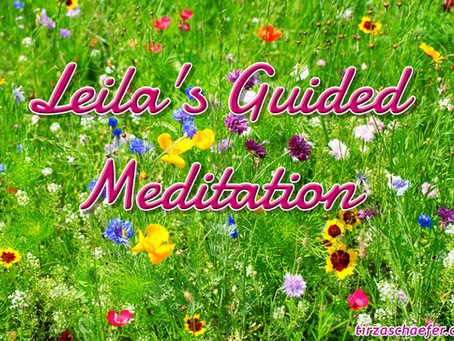 Thoughts Inspiration Education: Leila's Guided Meditation