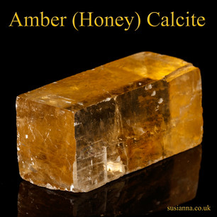 Amber (Honey) Calcite