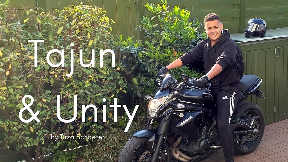 My son Tajun on his bike, photo copyrighted 2019