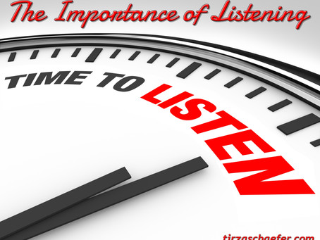 Thoughts Inspiration Education:  The Importance of Listening